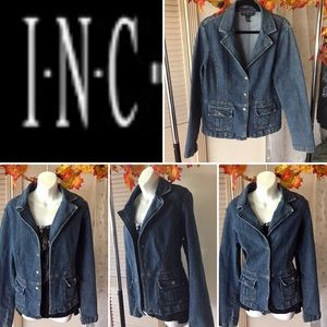 SALE INC International Concepts denim jacket